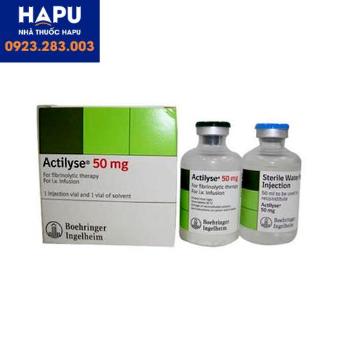 Thuốc Actilyse công dụng cách dùng giá bán