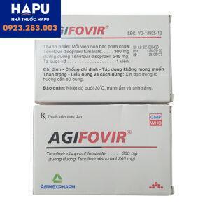 Thuốc Agifovir 300mg