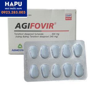 Thuốc Agifovir 300mg chính hãng giá tốt mua ở đâu hà nội tphcm 2021
