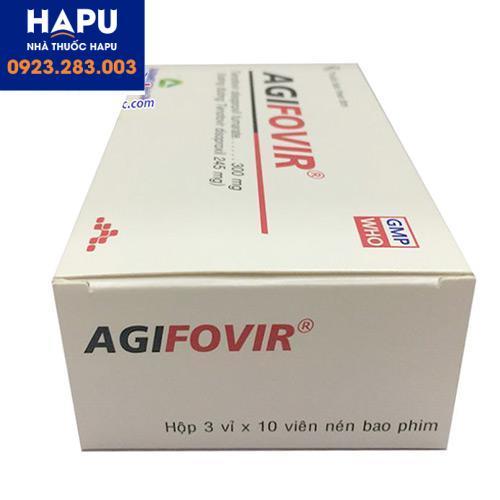 Giá Thuốc Agifovir 300mg