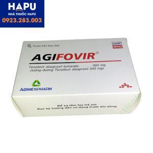 Thuốc Agifovir 300mg mua ở đâu