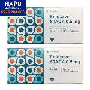 Thuốc entecavir stada 0,5mg chính hãng giá tốt mua ở đâu hà nội, tphcm