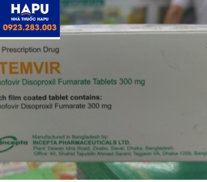 Thuốc Stemvir 300mg giá bao nhiêu mua ở đâu