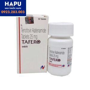 Thuốc Tafero 25mg chính hãng giá tốt mua ở đâu Hà Nội, tp.HCM