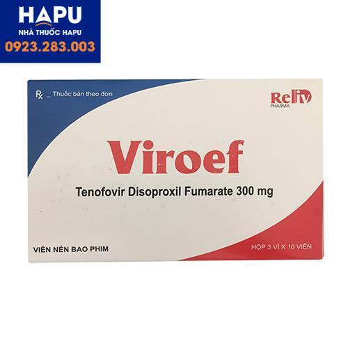 Thuốc Viroef 300mg chính hãng mua ở đâu hà nội, hcm 2021