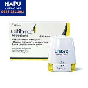 Thuốc Ultibro có tác dụng phụ gì