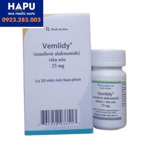 Thuốc Vemlidy công dụng giá bán cách dùng