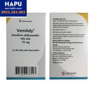 Thuốc Vemlidy giá bao nhiêu