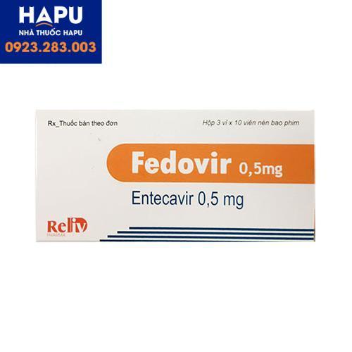 Mua thuốc Fedovir 0.5mg ở đâu uy tín Hà Nội, HCM