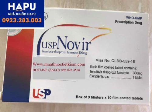 Mua thuốc USP Novir ở đâu