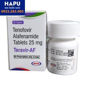 thuốc Teravir AF 25mg mua ở đâu
