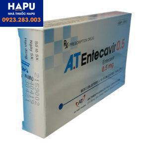 giá thuốc at entecavir 1mg