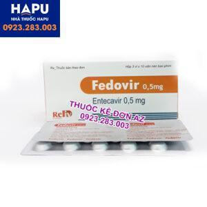Thuốc Fedovir giá bao nhiêu