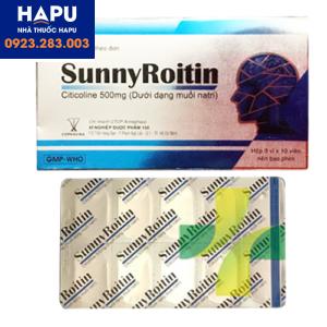 Thuốc Sunny Roitin công dụng cách dùng