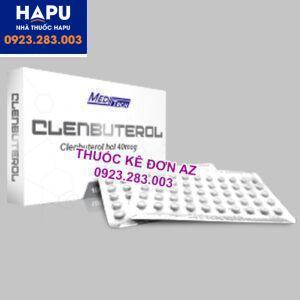 Thuốc Clenbuterol thông tin thuốc