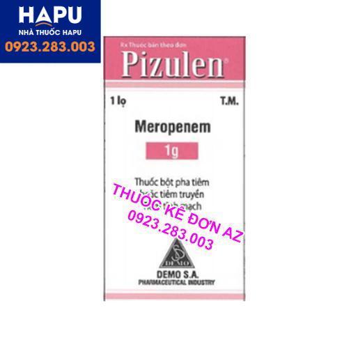Thuốc Pizulen công dụng liều dùng