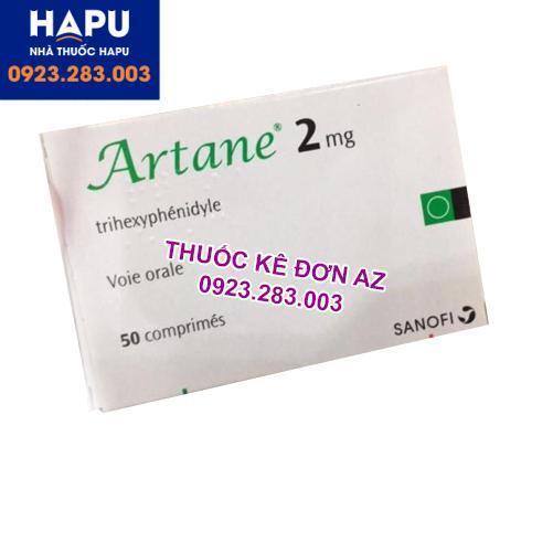 Thuốc Artane 2mg công dụng cách dùng