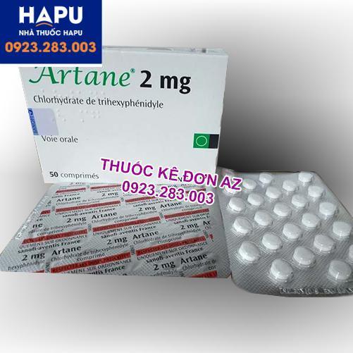 Thuốc Artane 2mg giá bao nhiêu