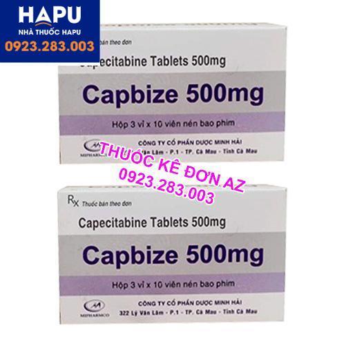 Thuốc Capbize 500mg giá bao nhiêu