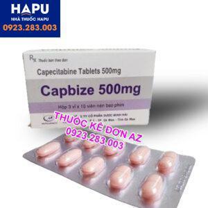 Thuốc Capbize 500mg mua ở đâu uy tín