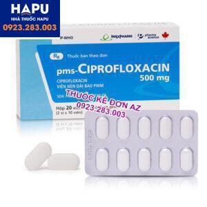Thuốc Ciprofloxacin 500mg mua ở đâu uy tín