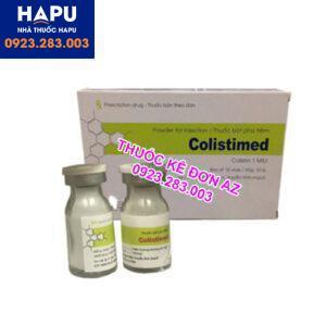 Thuốc Colistimed công dụng liều dùng