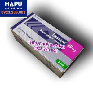 Thuốc Emanera 20mg công dụng cách dùng