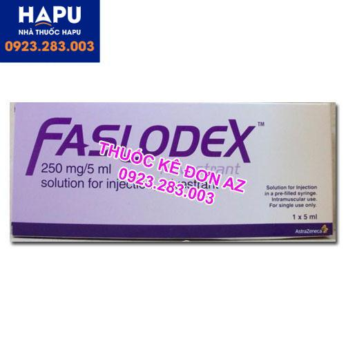 Thuốc Faslodex 250mg/5ml công dụng liều dùng