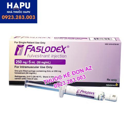 Thuốc Faslodex 250mg/5ml giá bao nhiêu