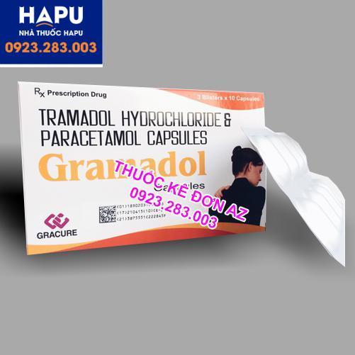 Thuốc Gramadol công dụng liều dùng