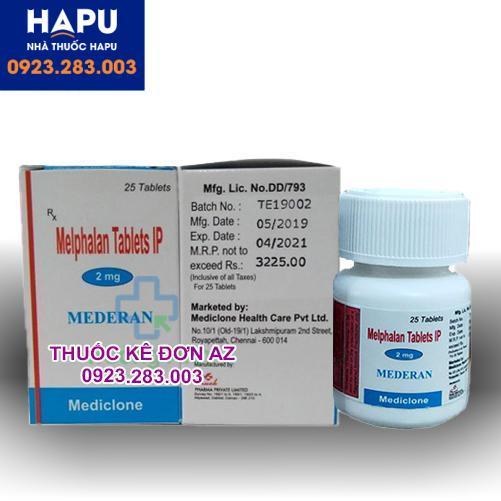 Thuốc Melphalan công dụng cách dùng chỉ định