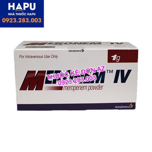 Thuốc Meronem 1g có tác dụng phụ là gì