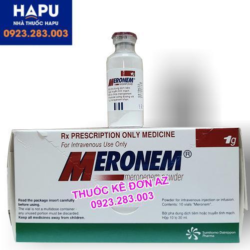Thuốc Meronem 1g mua ở đâu uy tín