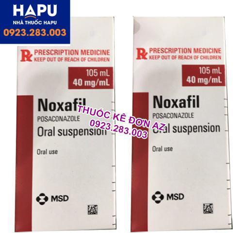 Thuốc Noxafil có tác dụng phụ gì