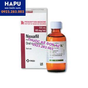Thuốc Noxafil thông tin thuốc