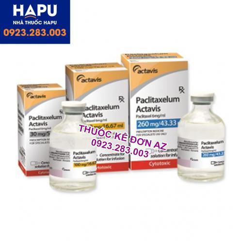 Thuốc Paclitacelum Actavis thông tin thuốc