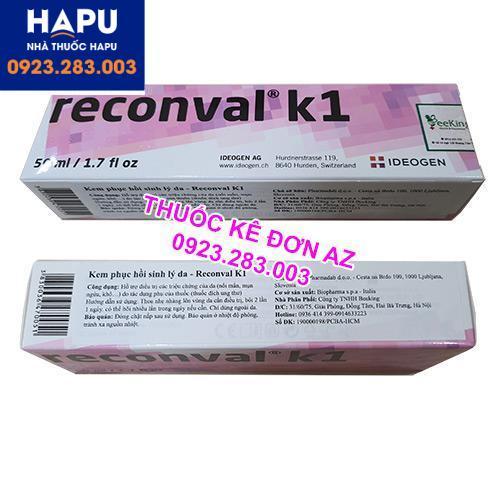 Thuốc Reconval k1 giá bao nhiêu