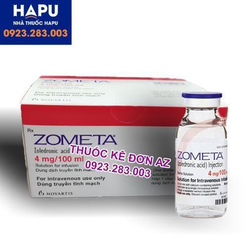 Thuốc Zometa thông tin thuốc