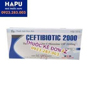 Thuốc Ceftibiotic 2000 mua ở đâu uy tín