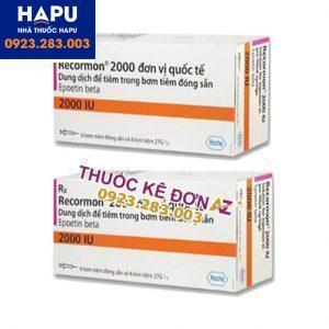 Thuốc Recormon 2000IU giá bao nhiêu