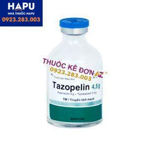 Thuốc Tazopelin 4.5g công dụng cách dùng