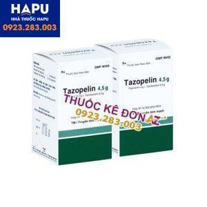 Thuốc Tazopelin 4.5g giá bao nhiêu