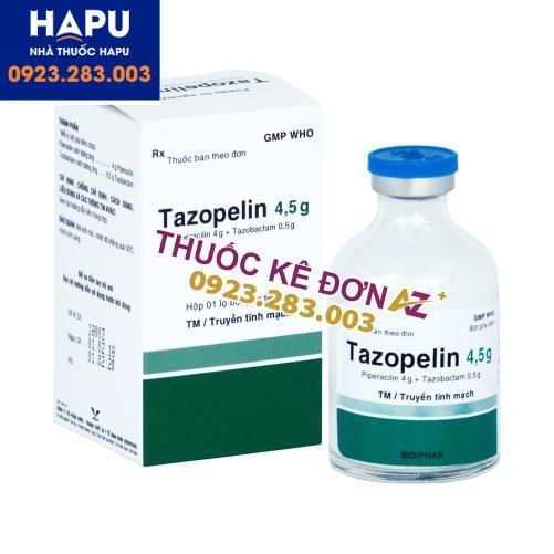 Thuốc Tazopelin 4.5g mua ở đâu uy tín