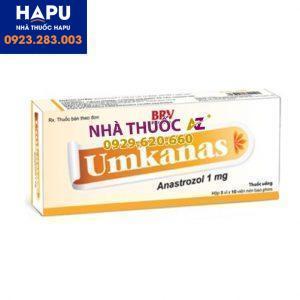 Thuốc Umkanast 1mg giá bao nhiêu