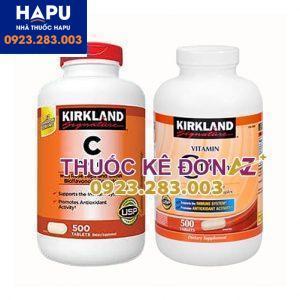 Vitamin C 100mg Kirkland công dụng cách dùng