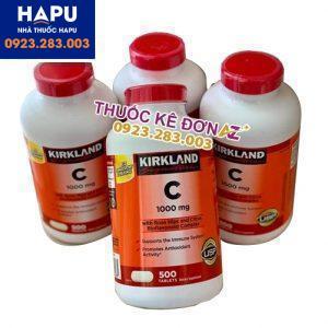 Vitamin C 100mg Kirkland giá bao nhiêu