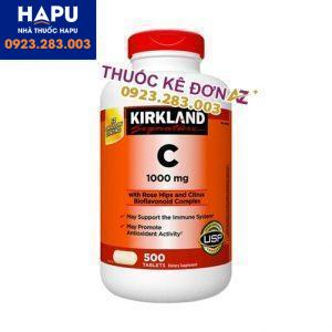 Vitamin C 100mg Kirkland mua ở đâu