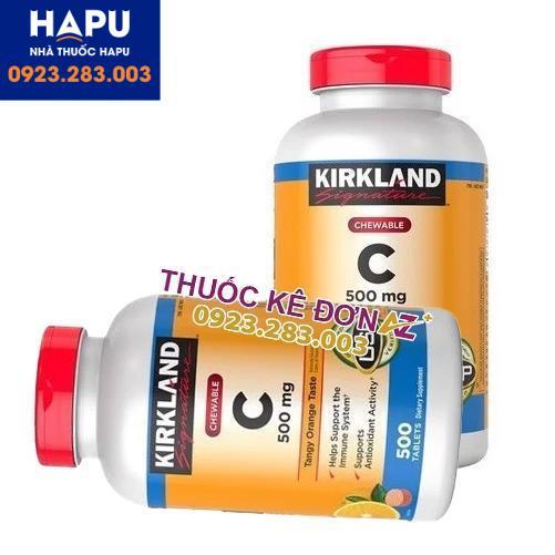 Vitamin C 500mg Kirkland giá bao nhiêu