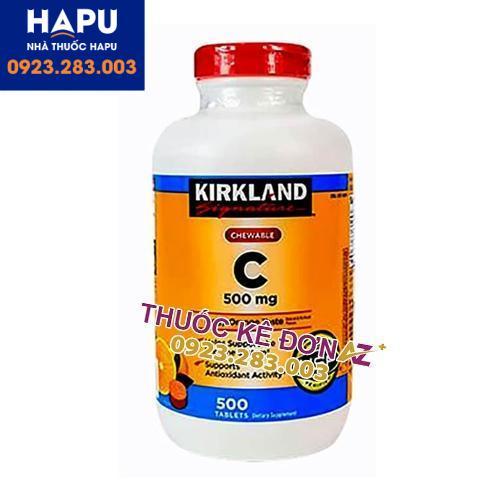 Vitamin C 500mg Kirkland mua ở đâu uy tín
