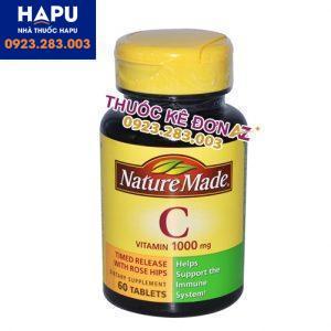 Vitamin C Nature Made công dụng cách dùng